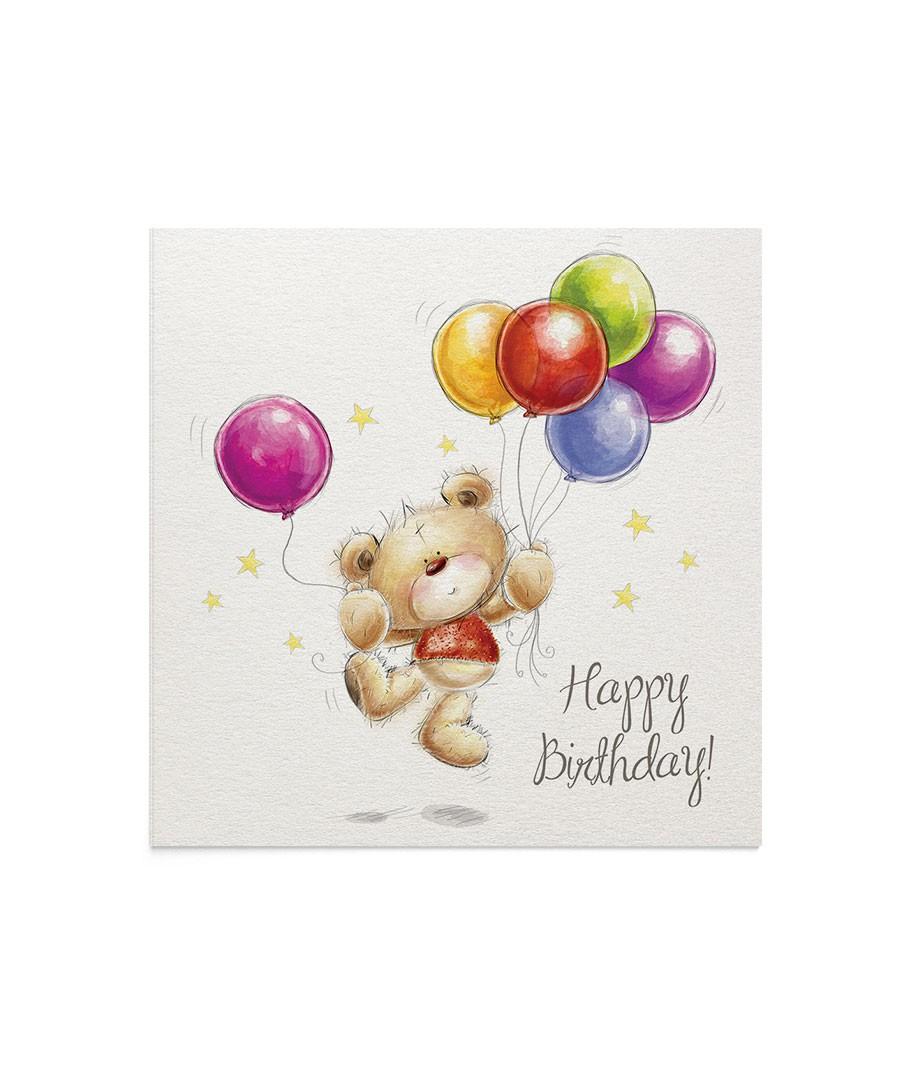 Felicitare Birthday Balloons