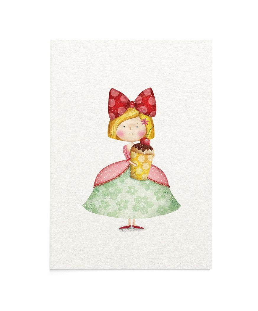 Felicitare Cherry Darling