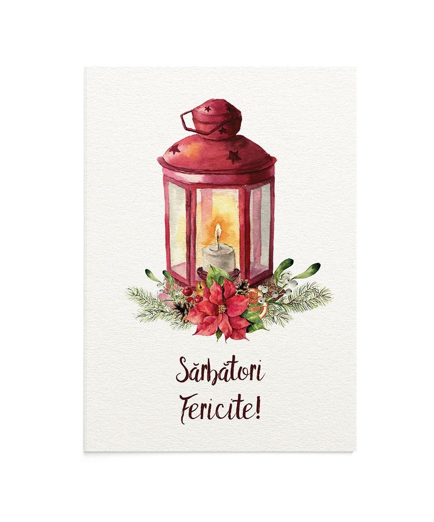 Felicitare Christmas Lamp
