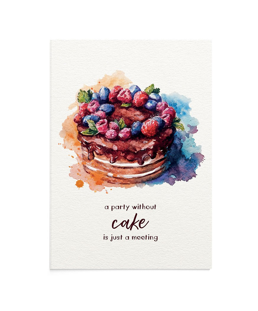 Felicitare Delicious Cake
