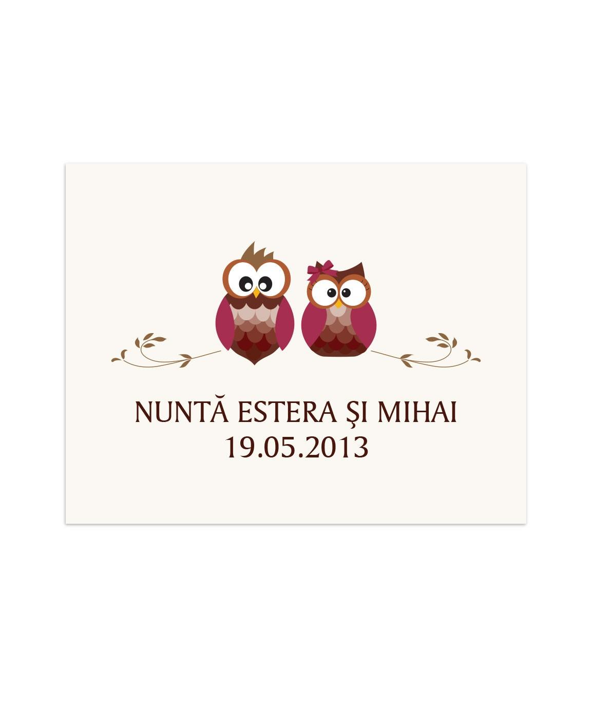 Eticheta Lovely Owl