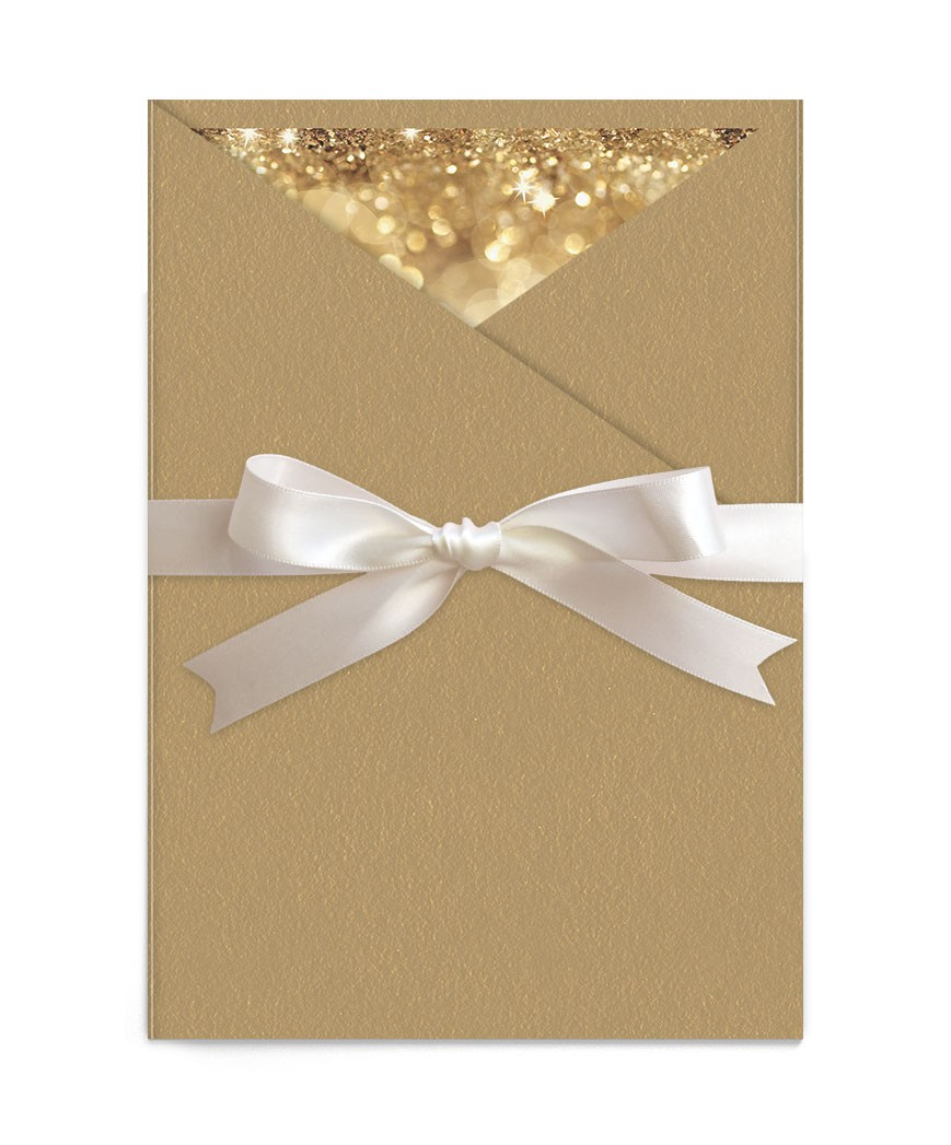 Invitatie de nunta Elegant Glitter