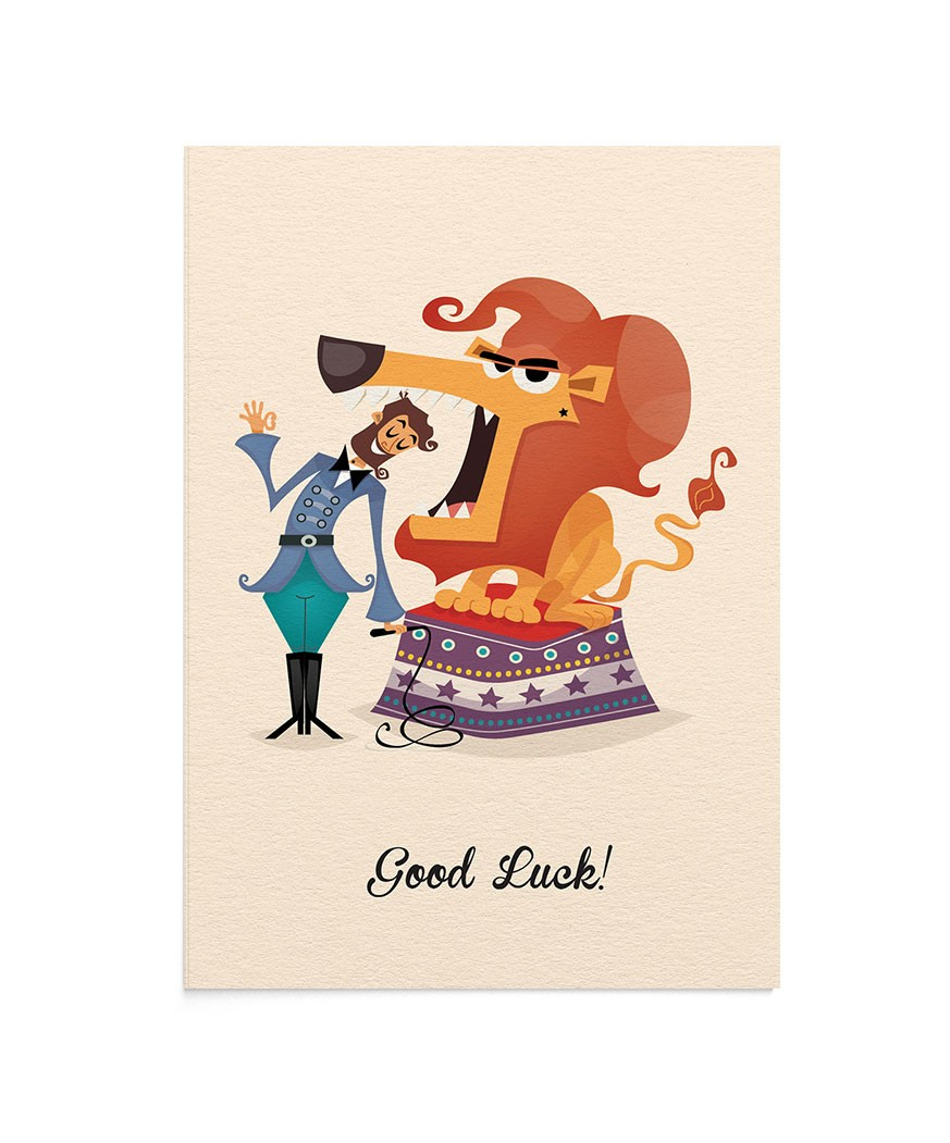 Felicitare Good Luck