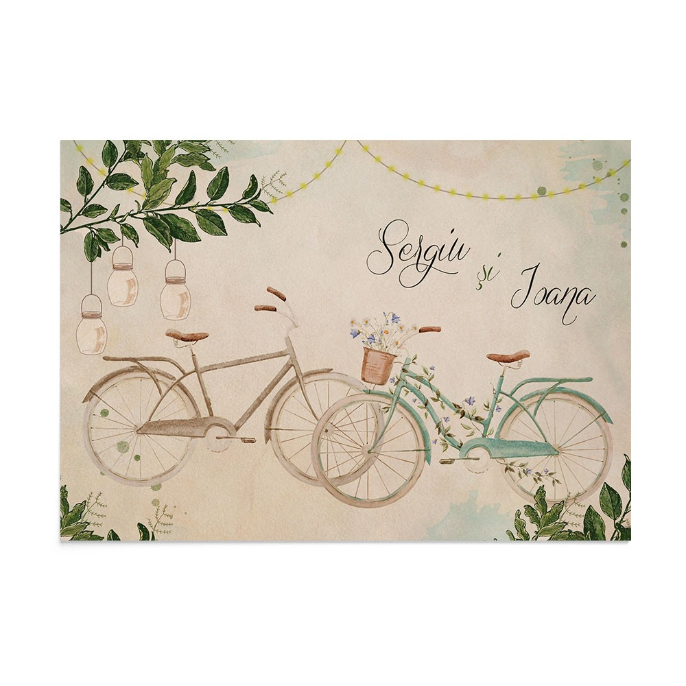 Invitatie Always Together Bike