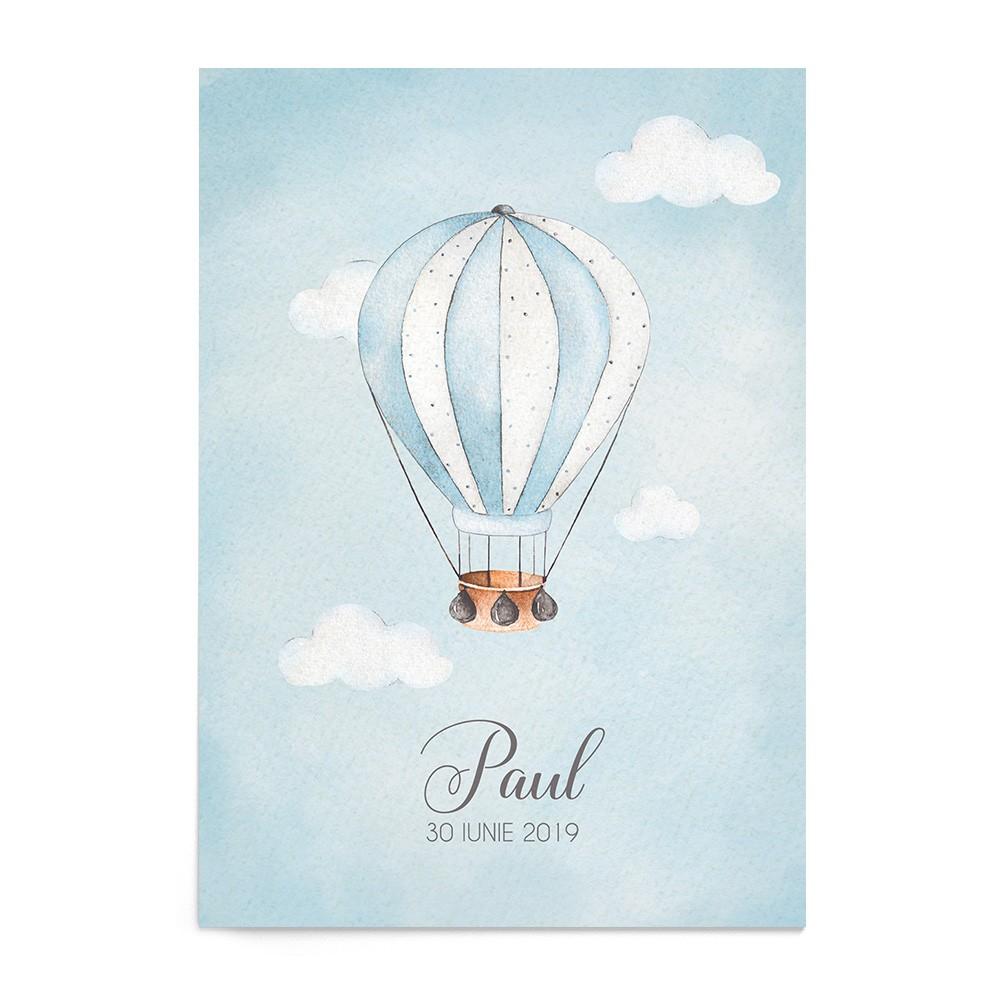 Invitatie de Botez Hot Air Balloon