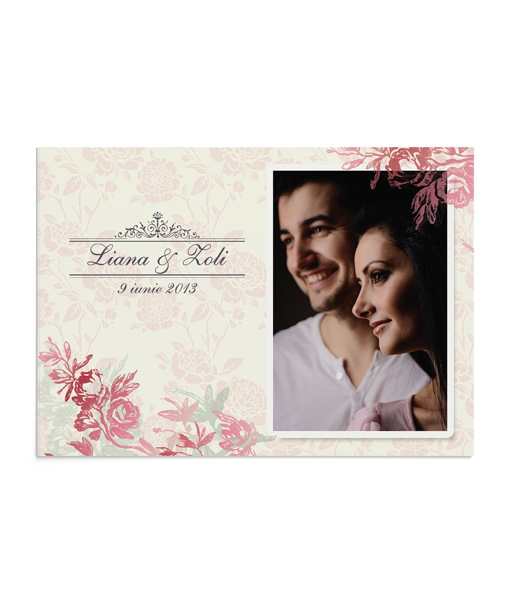 Invitatie Precious Bloom Photo
