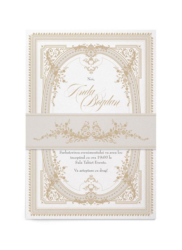 Invitatie de nunta Romantic Surrounding