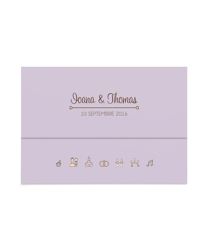 Invitatie de nunta Special Moments