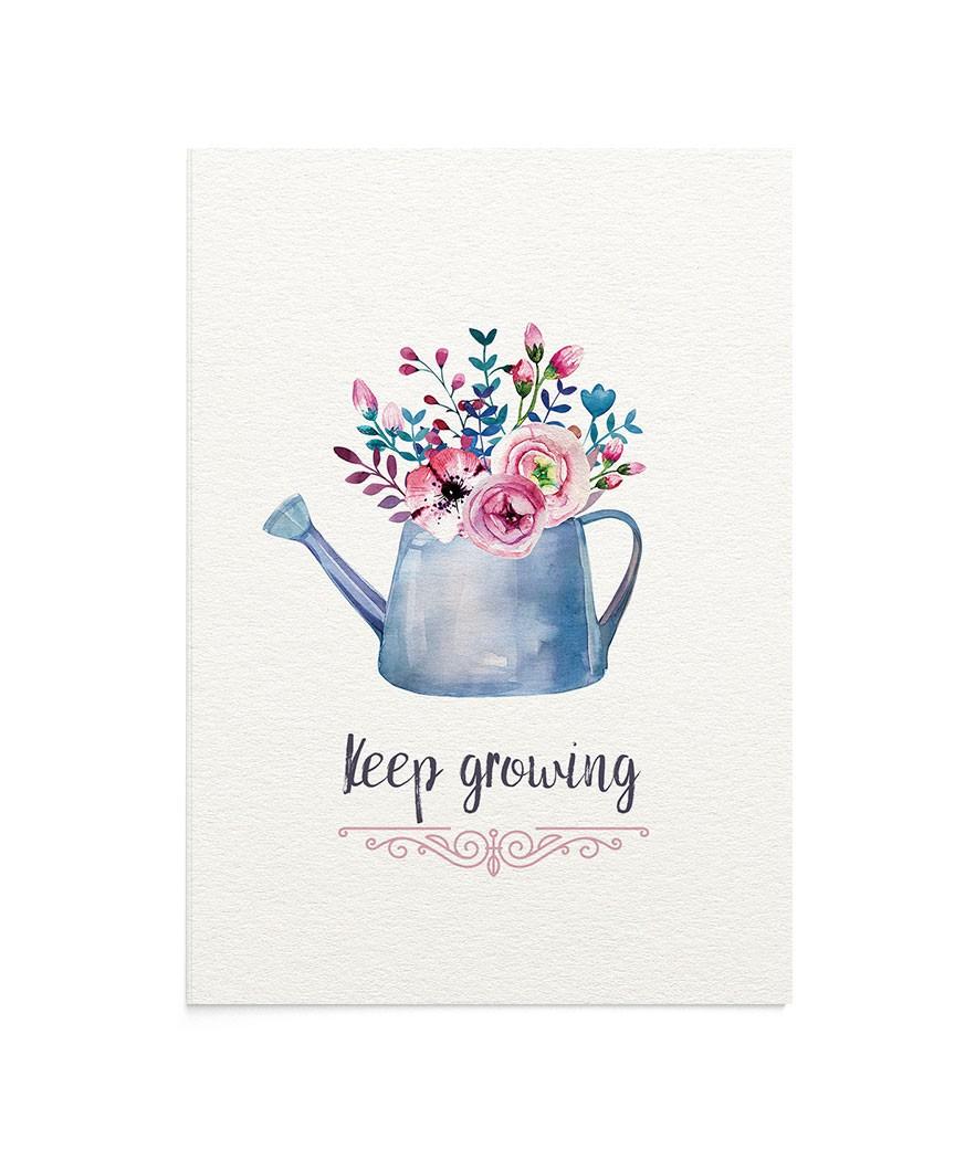 Felicitare Keep Growing