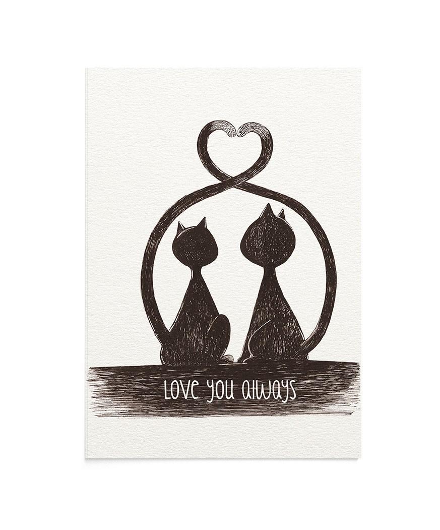 Felicitare Love You Always