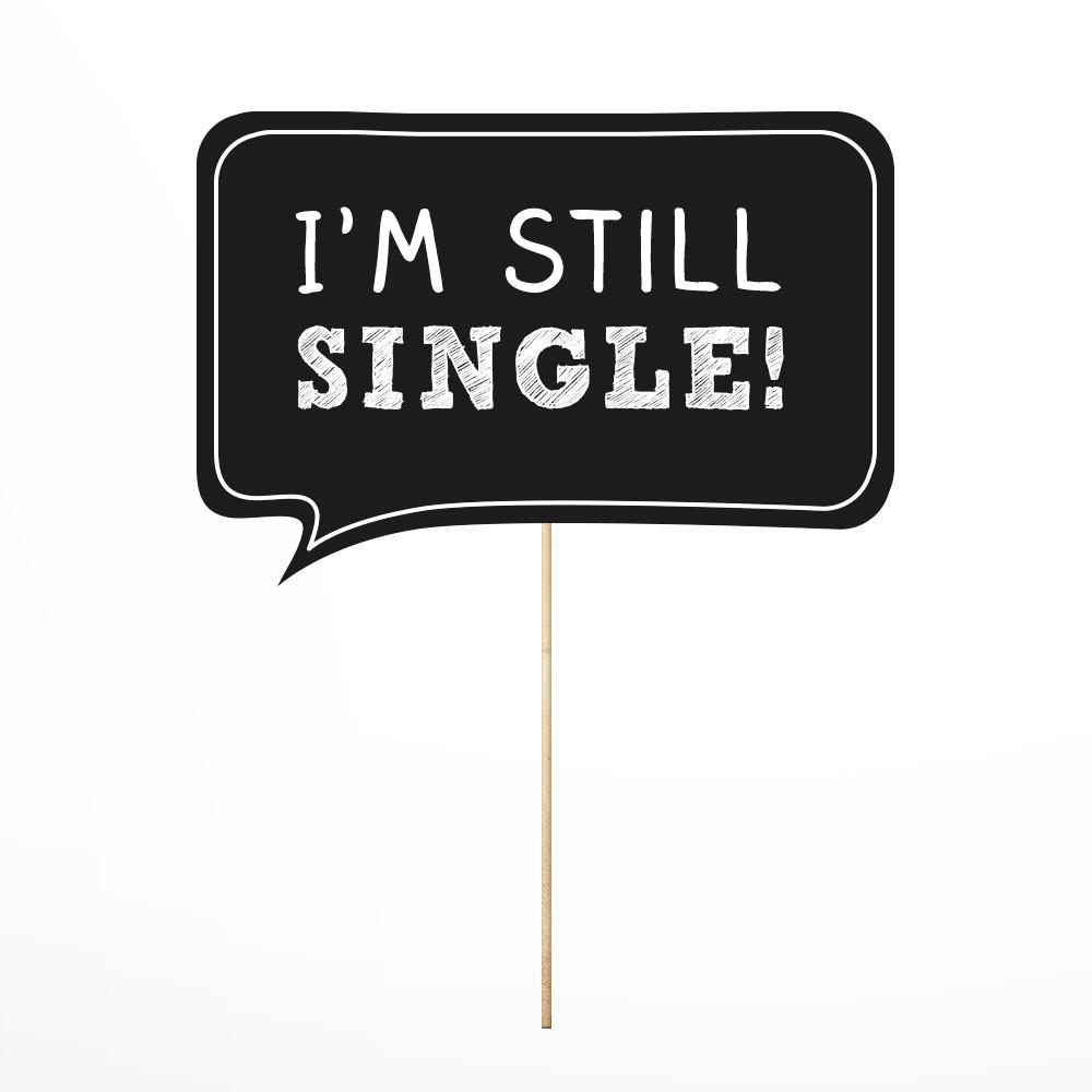 Photo Props I'm Still Single