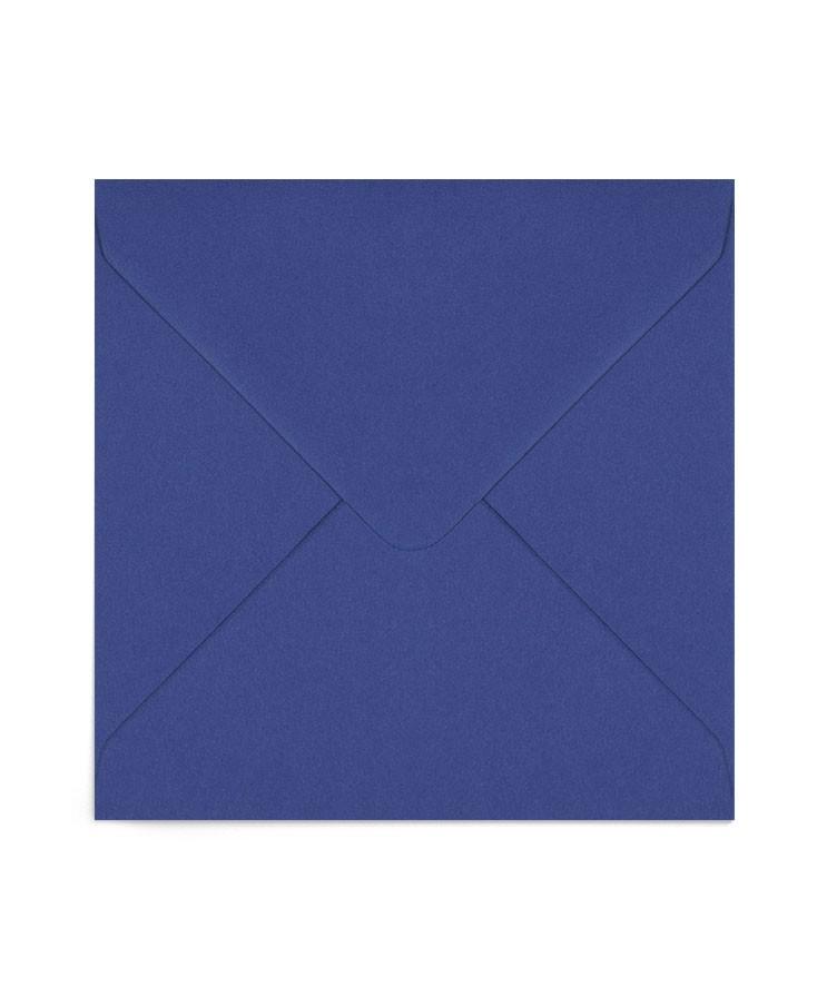 Plic patrat albastru iris