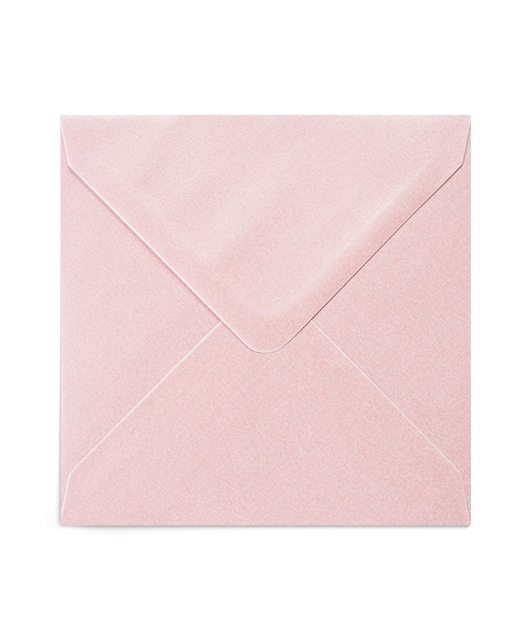 Plic patrat roz sidef