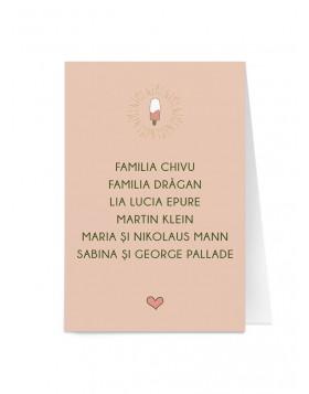 Card de nume Funky Love