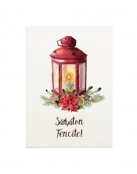 Felicitare Christmas Lamp
