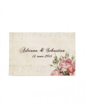 Eticheta Postcard Flowers