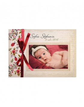Invitatie de botez Sweet Lady Bug