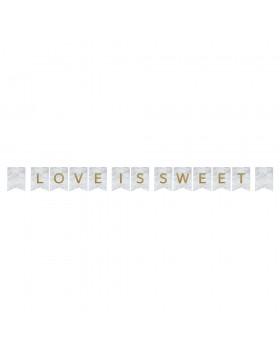Ghirlanda Simple Marblellous Love is Sweet