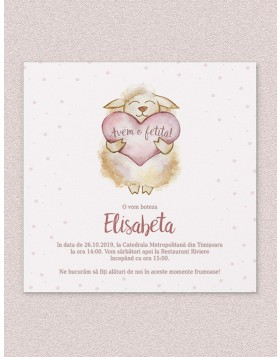 Invitatie digitala Joyful Sheep