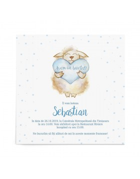 Invitatie Joyful Sheep