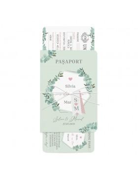 Invitatie de nunta Meant to Travel