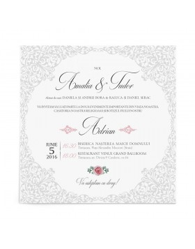 Invitatie Regal Lace