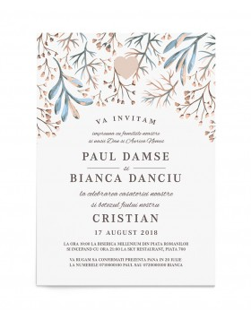 Invitatie Serene Fall