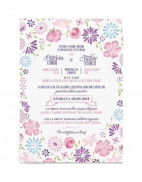 Invitatie de nunta Cheerful Design