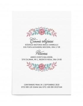 Invitatie de nunta Lovely Birds