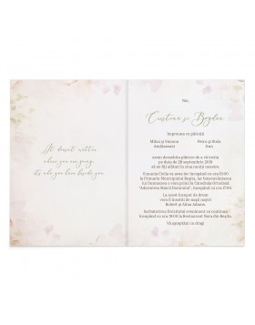 Invitatie de nunta Wedding Road