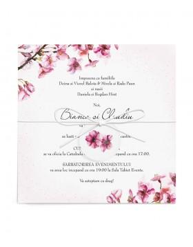 Invitatie de nunta Cherry Love