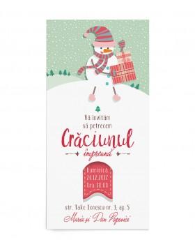 Invitatie de petrecere Christmas Joy