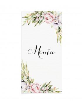 Meniu de nunta Dreamy Bloom