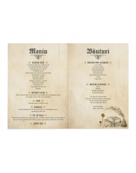 Meniu Cartea Nuntii