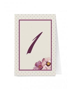 Numar de masa Blooming Poppy