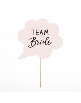 Photo Props Team Bride