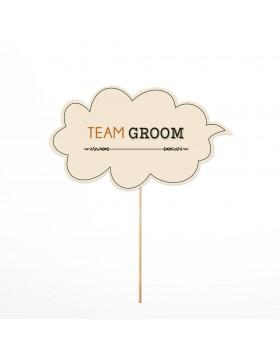 Photo Props Team Groom
