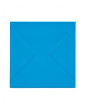 Plic patrat albastru-turcoaz