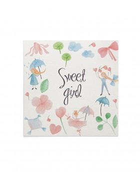 Felicitare Sweet Girl