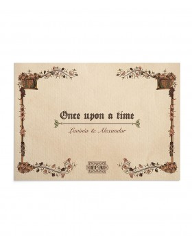 Invitatie Once Upon a Time