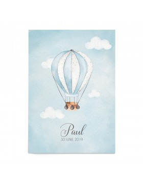 Invitatie de Botez Hot Air Balloon
