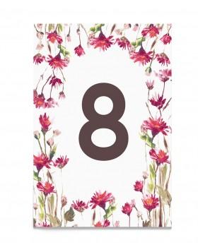 Numar de masa Flowery Field