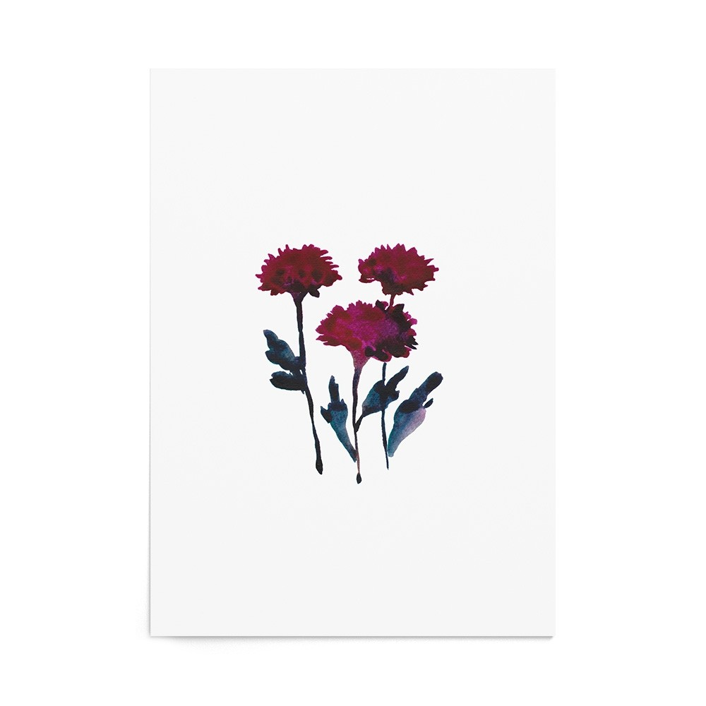 Art Print Chrysanthemum