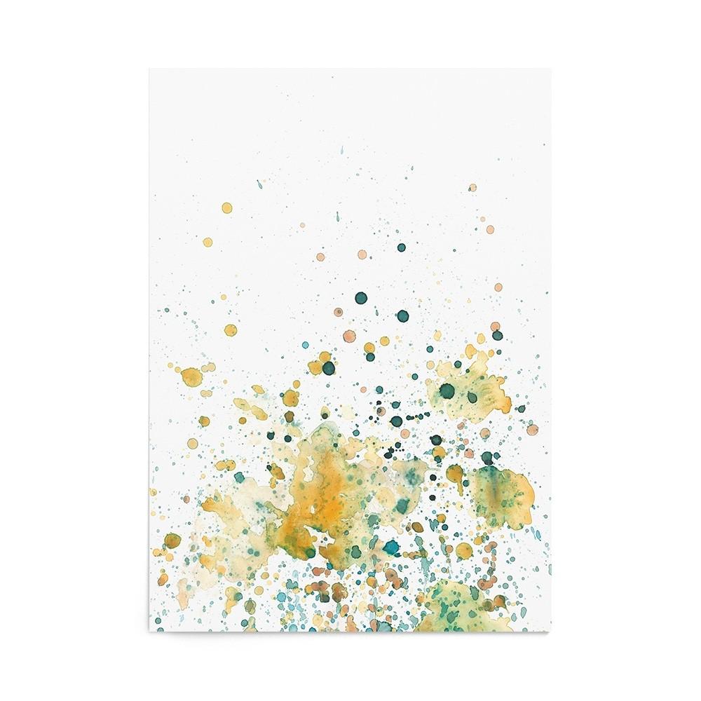 Art Print Marigold Splash