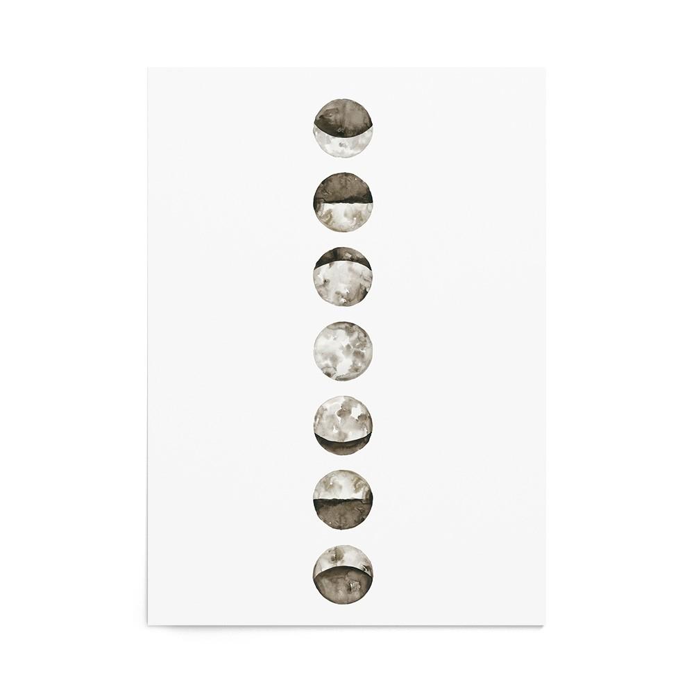 Art Print Moon Phases