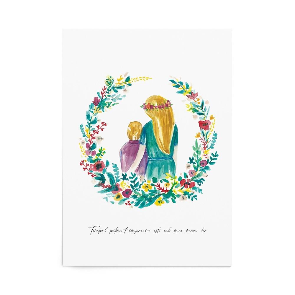 Poster Art Print Precious Garden Boy