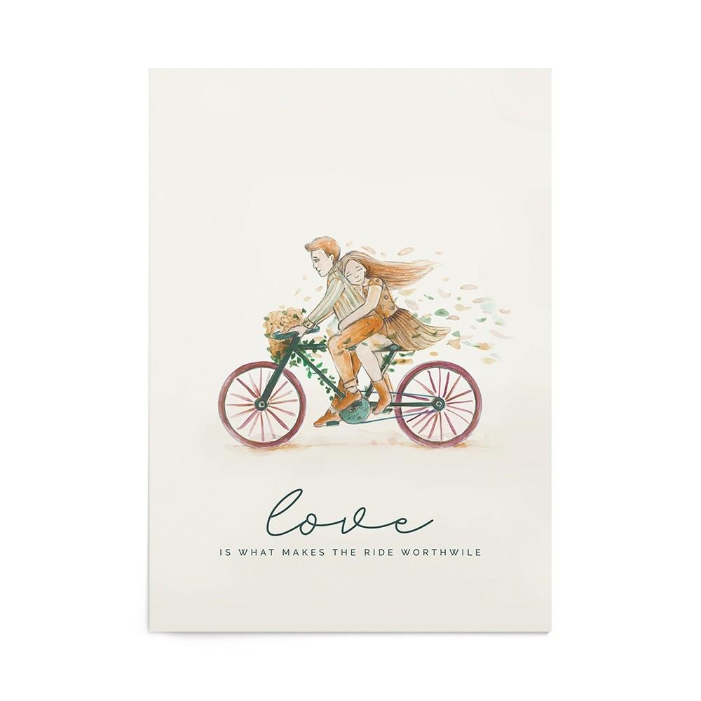 Poster Valentine's Tandem Ride