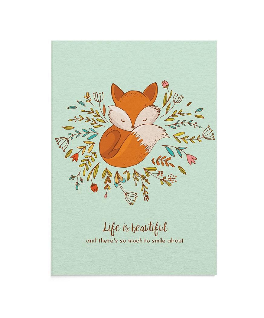 Felicitare Beautiful Life