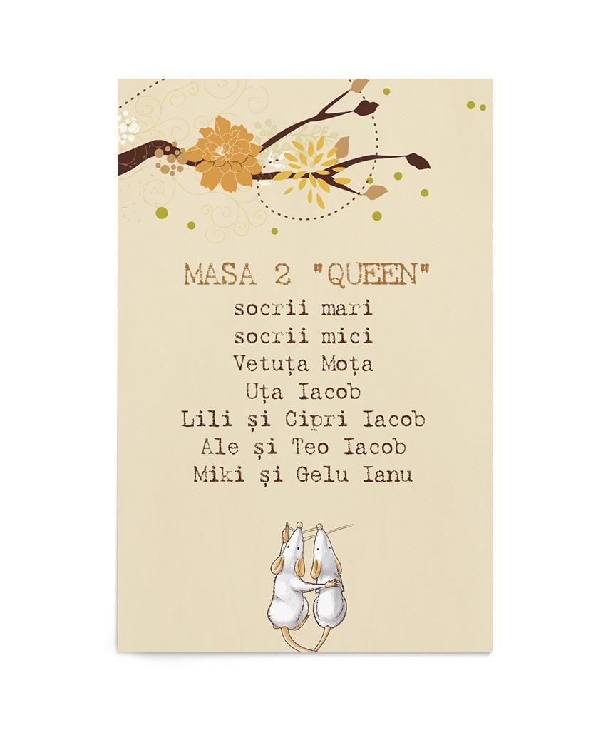 Card Autumn Couple