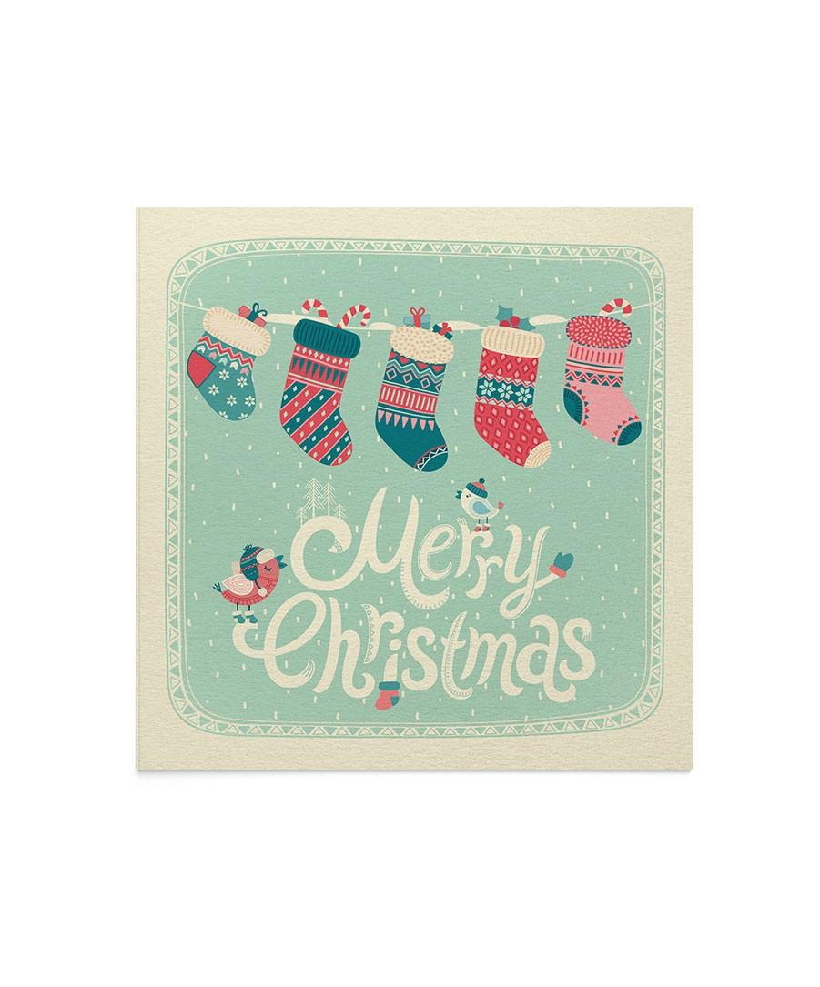 Felicitare Christmas Socks